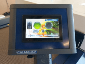 Calmatech Drying Solutions Tunnel Dryer Typhoon HMI touchscreen